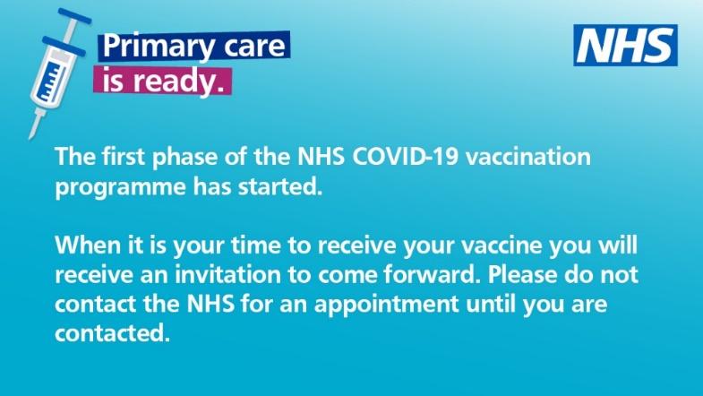 Covid19 vaccination poster